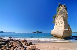 Hoho Rock - Cathedral Cove Water Taxi, Hahei, New Zealand
