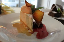 Baileys cheesecake from Enigma on The Esplanade Restaurant