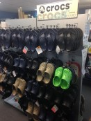 Crocs sold at Longshore Marine Whitianga