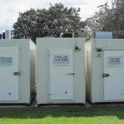 Chiller hire on skids and refrigeration on the Coromandel Peninsula Coastal Chiller Hire Whitianga