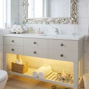 Dimax Kitchens & Interiors - classic country custom bathroom vanity units whitianga