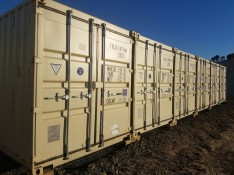 Clean new 6 metre Container Storage for lease