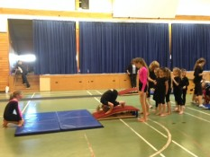 End of year show Mercury Bay Gymnastics