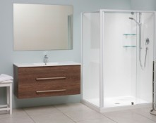 Clearlite shower