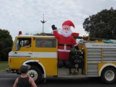 Santa Parade Matarangi