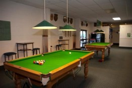 Snooker Table at the Mercury Bay Club