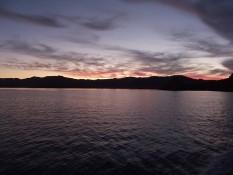 Fishing NZ Adventures Whitianga sunset charter views