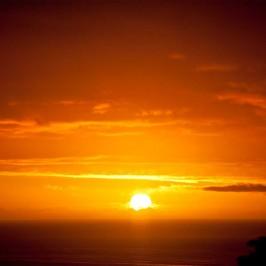 Opito Bay sunrise
