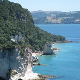 On walkway from Hahei to Cathedral Cove