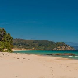 Southern end of Otama beach