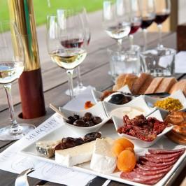 Cooks Beach Mercury Bay Estate wine tasting and platter
