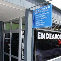 Endeavour Print - printers Whitianga