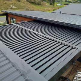 dark coloured roof