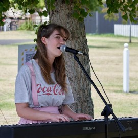 Sarah Morcom – singing, keyboard