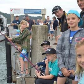 Kid fishing competition Mercury Bay Game fishing club whitianga