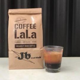 Coffee LaLa Just Black and fresh coffee