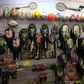 Tennis, Squash Racquets, sports gear