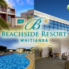 Beachside Resort Apartment complex Whitianga tennis and pool available