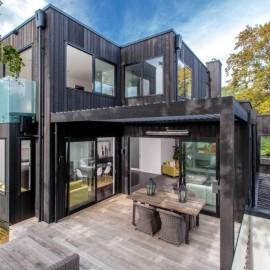 Two storey black house