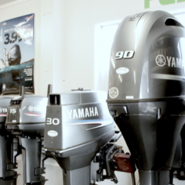 Line of outboard motors