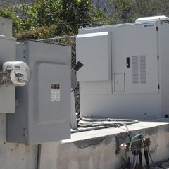 Grey boxes back up power