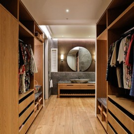 timber wardrobe cabinetry