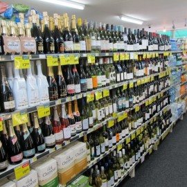 Wine, beer & ciders - including chilled