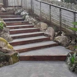 High Country Landscapes stairs