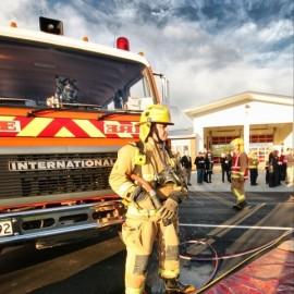 Whitianga Fire Volunteer by Vaughan Grigsby