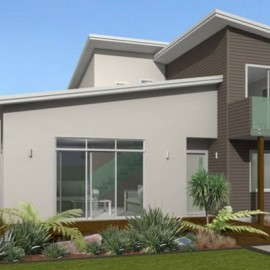 Two storey home and garden