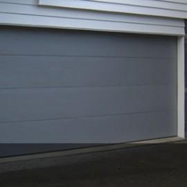 Flat Woodgrain sectional Garage doors by Doors 2000 Coromandel