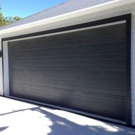 Fineline sectional garage door by Doors 2000 Coromandel Ltd