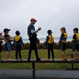 Boat safety youth sailing club Mercury Bay Boating Club