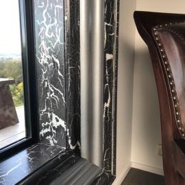 windowsill and chair