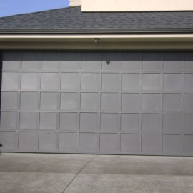 Cedar garage door by Doors 2000 Coromandel