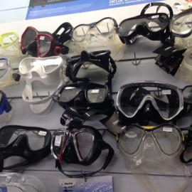 Snorkel Masks at Whitianga sports