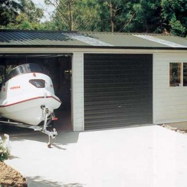 Skyline double garage