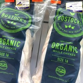 Bostock's organic whole chicken