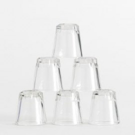 glass cocktail ice