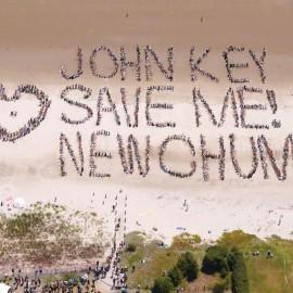 John Key Save Me! New Chum