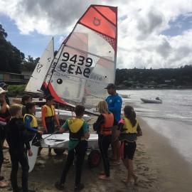 kids sailing youth programme Mercury Bay Boating Club