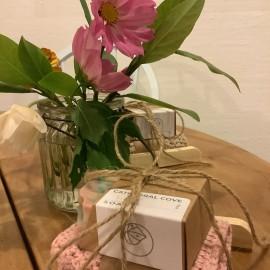 Soap & flowers