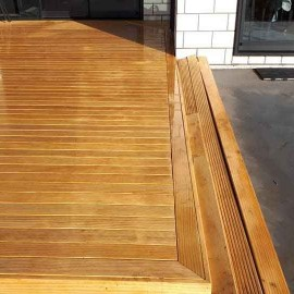 High Country Landscapes decking