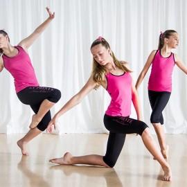 Three girls Lyrical dancing