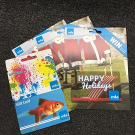 MTA gift Cards - a perfect gift for someone available at The Autobarn Whitianga 2004 Ltd