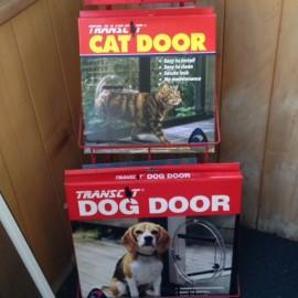 Cat Door & dog door in box