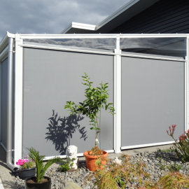 Marlin Waters outdoor ziptrak shade system Whitianga by AquiloGola