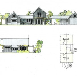 House plan elevations