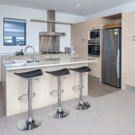 Sovereign Pier on the Whitianga Waterways apartment accommodation with fully equipped modern kitchens