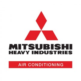 Mitsubishi heavy industries air conditioning logo